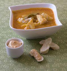 Bouillabaisse facile - soupe de poisson provençale - Recettes de cuisine Ôdélices