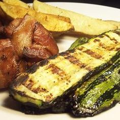 Grilled Italian Zucchini - Allrecipes.com... one of my favorite summer dishes!