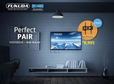 """For oly P8,995, you can have a Fukuda 32"""" HD LED TV Black (FLED3201DC) with FREE Wall Bracket!  Available online @ Lazada http://www.lazada.com.ph/fukuda-32-hd-led-tv-black-fled3201dc-with-free-wall-bracket-2433996.html?spm=a2o4l.brand-5271.0.0.65lCqx&ff=1&sc=MZcU&rb=5271 #apparel #fashion #appliances #electronics #phones #home #garden #furniture #shoes #bags #toys #hobbies #sports #jewelry #watches #baby #kids #onlineshop #thebuddyshoppe #theshopforbuddies"""