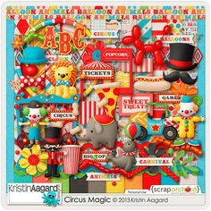 circus magic kristin aagard - Google Search
