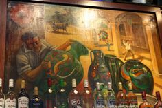 El Tenampa. Graced with murals of the giants of Mexican song and enlivened by its own songsters, El Tenampa is a festive cantina on the north side of the plaza; a visit here is obligatory.  Street Plaza Garibaldi 12