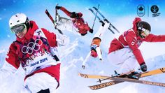 Team Canada is sending one of the strongest freestyle skiing teams in the world to PyeongChang Ski Freestyle, Riders On The Storm, Canada, Snowboarding, Olympics, Skiers, Olympic Team, Athletic Clothes, Hs Sports