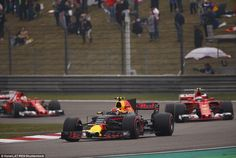 Verstappen enjoyed an incredible start to the Chinese Grand Prix, climbing 14 places in 11...
