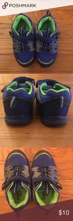 OshKosh B'gosh Toddler Sneakers 👟 Toddler sneakers, worn a few times and quickly outgrew them! Size 8, lots of tread and great condition. Super comfy! OshKosh B'gosh Shoes Sneakers
