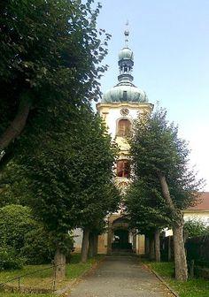 Poutní kaple Narození Panny Marie - Česká Kamenice - Česko