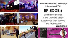 Episode 1 of Celeste Rains-Turk; Celestial_fit international is on YouTube now! All behind the scenes from my San Diego Speaking engagement at the ultimate stage experience! Link in bio or search celestial_fit