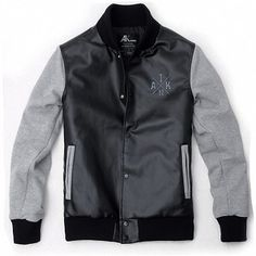 Grey Letterman Varsity Jackets For Men