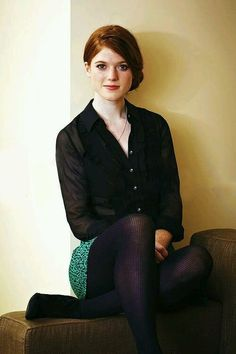 Rose Leslie is a Scottish actress known for The Last Witch Hunter, Honeymoon, Morgan, The Good Fight, as Gwen Dawson in Downton Abbey and as the Wildling Ygritte in Game of Thrones. Rose Leslie, Black Opaque Tights, Purple Tights, Black Pantyhose, Wool Tights, Girls With Red Hair, Flawless Beauty, Redhead Girl, Beautiful Redhead
