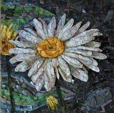 Mosaic Works by Cathy Taylor in Stained Glass, Smalti,Ceramic and Porcelain Tile Mosaic Tile Art, Mosaic Artwork, Mosaic Crafts, Mosaic Projects, Stone Mosaic, Mosaic Glass, Stained Glass, Glass Art, Mosaics