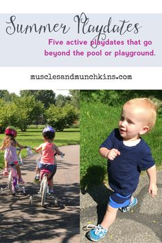 Summer Playdates to keep the kids active