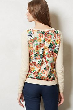 Bloomsbury Pullover #anthropologie #anthrofave