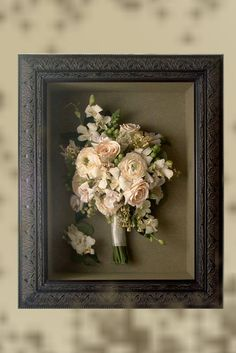The Wedding Shadow Box Or How To Keep Your Memories