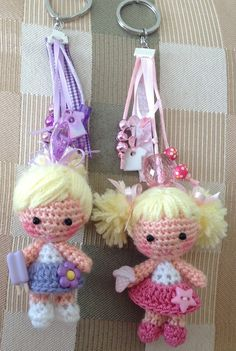 Luckydoll by mousehouse handmade handmade luckydoll mousehouse Love Crochet, Crochet Gifts, Beautiful Crochet, Easy Crochet, Crochet Baby, Mini Amigurumi, Doll Amigurumi Free Pattern, Amigurumi Doll, Knitted Dolls