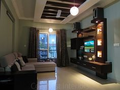 living room designs in bangalore - Google Search