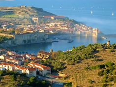 Collioure, sur la  Côte Vermeille