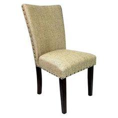 Parsons Chair with Nailhead Trim   Nebraska Furniture Mart