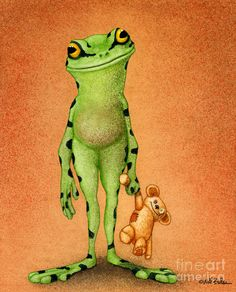 Fred and Ted... Painting by Will Bullas - Fred and Ted... Fine Art Prints and Posters for Sale