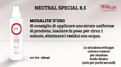 Oggi vi presentiamo un nuovissmo prodotto della #LineaViso Professionale: il #NeutralSpecial 8.5, una soluzione cosmetica professionale, neutralizzante nei trattamenti biostimolanti Neoglis! Per maggiori informazioni e dettagli contattateci al numero di telefono 0734/840806 o via mail all'indirizzo info@neoglis.it !