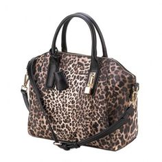 This wildly stylish bag will add some adventure to your everyday wardrobe.  The leopard print f4de1c60a9a2a
