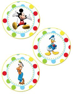 Mickey Mouse Clubhouse Birthday Party Banner- Digital File - DIY - Printable