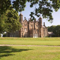 Glenarm Castle - Co Antrim, Northern Ireland . Castles In Ireland, Ireland Homes, English Architecture, Historical Architecture, Castle House, Castle Ruins, Randal, Irish Sea, Haunted Places