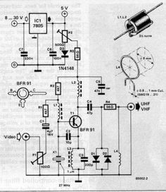 Circuit-Zone.com - Electronic Projects, Electronic Schematics, DIY Electronics Diy Electronics, Electronics Projects, Electronic Schematics, Do Video, Circuits, Audio, Android, Math, Circuit Diagram