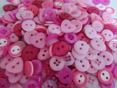 Get creative with these Small Pink Button... come have a look. http://www.smartasabutton.com/products/small-pink-button-assortment?utm_campaign=social_autopilot&utm_source=pin&utm_medium=pin #smartasabutton #buttons #craftsandhobbies