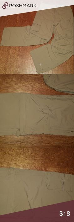 REI Sahara convertable trail pants Like new, 100% nylon for quick dry, easy transitions from pants to shorts, lots of pockets, adjustable waist. REI Bottoms Casual