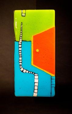 Tales End: Meg Branzetti, Vicky Kokolski: Art Glass Wall Art | Artful Home