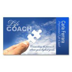 PROMOTIONAL For Life Coach Spiritual Counseling Business Card Carte De VisiteCartes