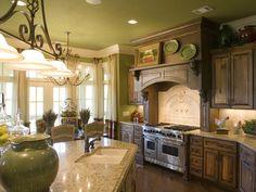 Best Wall Color For Oak Cabinets • Kelly Bernier Designs
