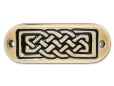 Celtic Knot Porcelain Bracelet Tab
