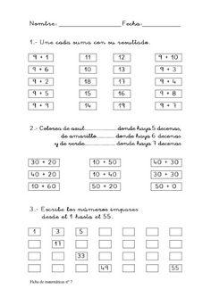 Genial cuaderno para trabajar los números del 0 al 99 PRIMER CICLO -Orientacion Andujar