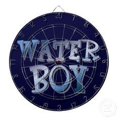 Water Boy Dartboard With Darts