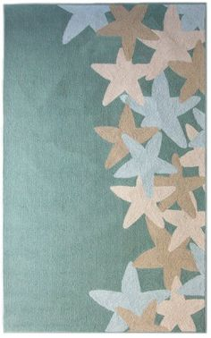 Seaside Starfish Ocean Rug 9u0027X12u0027 By ICustomRug, Http://www