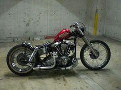 Bobber Inspiration - Bobbers and Custom Motorcycles Bobber Bikes, Bobber Motorcycle, Cool Motorcycles, Vintage Motorcycles, Honda Bobber, Triumph Bobber, Yamaha, Harley Davidson Custom Bike, Motos Harley Davidson