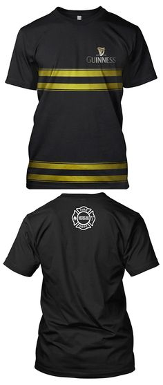 Purchase this commemorative Guinness Firefighter T-Shirt between now and St. Patrick's Day and help support fire departments around the country. | Shared by LION