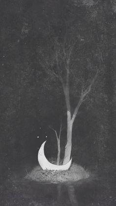 Luna abandonada...