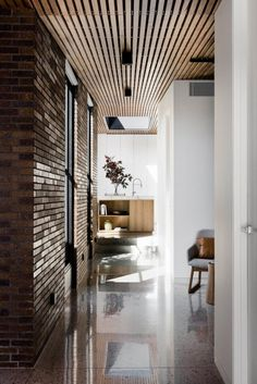 The Courtyard House is a nod to the tradition of the Italian Palazzo and Australian courtyard house - CAANdesign | Architecture and home design blog