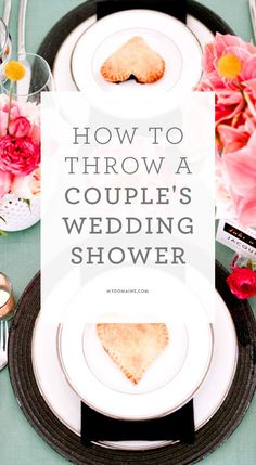 The next big thing in wedding showers