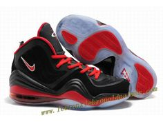 Nike Air Penny 5 Black Red - Penny Hardaway Shoes 2013