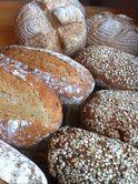 Bread selection for Farm Shop.