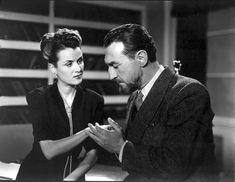 Ana María Campoy y Mario Soffici en EL EXTRAÑO CASO DEL HOMBRE Y LA BESTIA (Mario Soffici 1951)