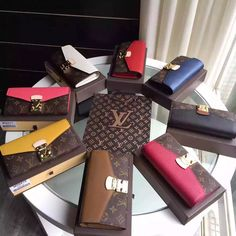 Louis Vuitton Monogram Canvas Pallas Wallet