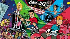 Blink 182 The Mark, Tom And Travis Show The Enema Strikes Back! Vinyl The Mark, Tom And Travis Show (The Enema Strikes Back!) is Blink Tom Delonge, Toms, Music Wallpaper, Cartoon Styles, Music Bands, Punk Rock, Rock Bands, Cover Art, Youtube