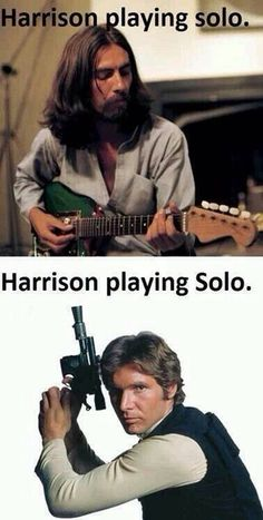Harrison playing Solo.