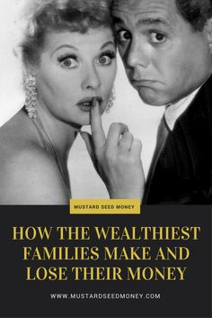 People covet those in the wealthiest families, but the truth is that future generations don't always spend wisely. How do the wealthy lose money? Read more! via @mustardseedmone