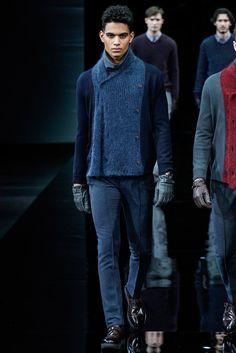 Giorgio Armani Fall 2014 Menswear - Collection - Gallery - Style.com
