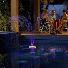 Create a serene ambience to your outdoor and poolside activities with the Aquajet Light Show and Fountain. Its unique design offers enhanced color patterns and an exhilarating water show that will bri