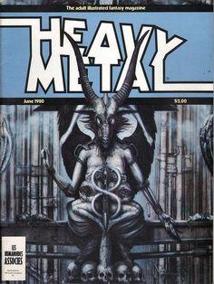 Heavy Metal June 1980